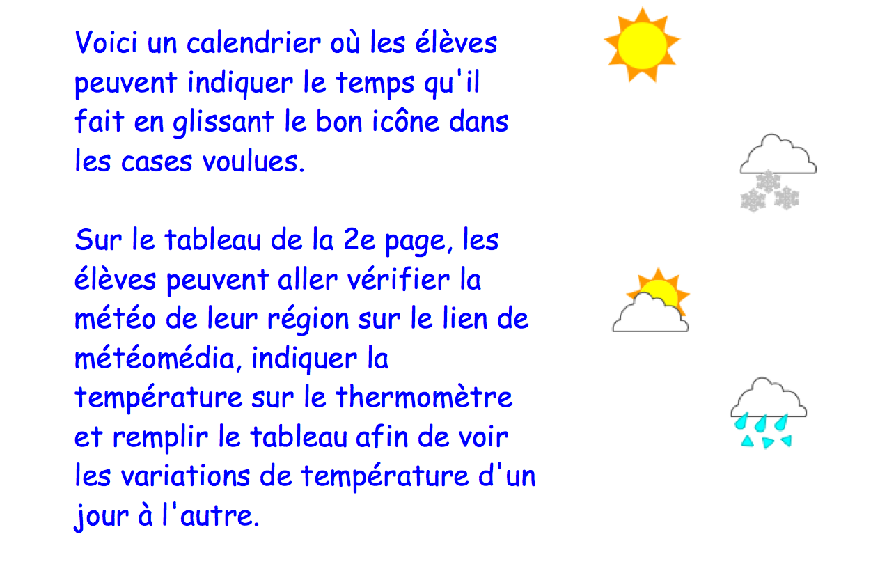 Calendrier m t o notebook for Ouvre la fenetre translation